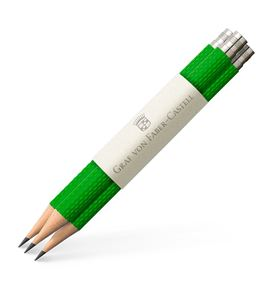Graf-von-Faber-Castell - 3 spare pencils Perfect Pencil, Viper Green