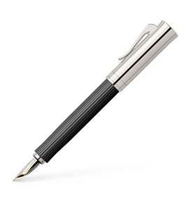 Graf-von-Faber-Castell - Fountain pen Intuition Platino Ebony Medium